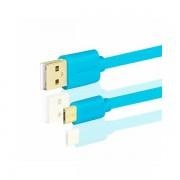 AXAGON BUMM-AM20QL, Kabel USB 2.0 MicroUSBUSB Type-A,Plavi BUMM-AM20QL