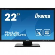 iiyama ProLite T2253MTS, 54,6 cm (21,5''), Optical Multitouch, Full HD, nero