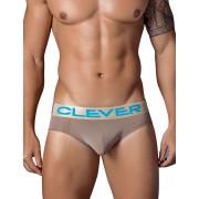 Clever Navy Latin Brief Underwear Brown 5323