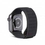 Decoded Kožený řemínek pro Apple Watch 38mm / 40mm - Decoded, Traction Black