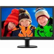 Monitor LED 18.5 Philips 193V5LSB210 WXGA 5ms Black