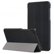 Bolsa Folio Tri-Fold para Lenovo Tab 7 Essential - Preto