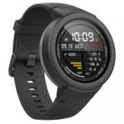 """Смарт часовник Xiaomi Mi Amazfit Verge, 1.3""""(3.3 cm) дисплей, GPS, 4GB Flash памет, Bluetooth, 390 mAh батерия, черен"""