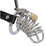 Cintura di Castitá Maschile CHASTITY BELT in Acciaio