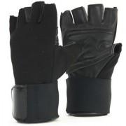 Tahiro Black Weigth Lifting Gym Gloves - Pack Of 1