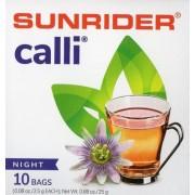 Méregtelenítő-Calli tea-akupunktúra tűk nélkül, éjszakai, 10 db/doboz