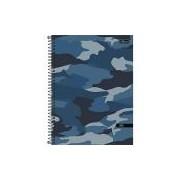 Caderno de 1 Matéria, Tilibra 29.438, Multicor, Pacote com 4 Unidades
