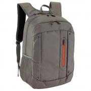 Rucsac gri, portocaliu, Everestus, RU40TN, poliester, saculet de calatorie si eticheta bagaj incluse
