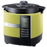 Multicooker Oursson Versatility MP5005PSD/GA, Timer, gatire aburi/sub presiune, 1200 W (Negru/Verde)