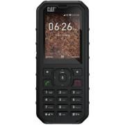 "Telefon Mobil CAT B35, Procesor Dual-Core 1.3GHz, Ecran TFT 2.4"", 512 MB RAM, 4GB Flash, 2MP, Wi-Fi, 4G, Dual Sim (Negru) + Cartela SIM Orange PrePay, 6 euro credit, 6 GB internet 4G, 2,000 minute nationale si internationale fix sau SMS nationale din care"
