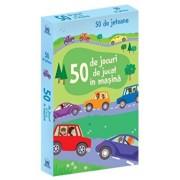 50 de jocuri de jucat in masina - jetoane/Usborne