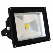 LED REFLEKTOR 50W/220VAC,H.BELA,CRNI