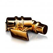 Skultuna-Bar Manschettknappar, Gold Plated