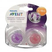 Avent Philips® Avent Scher durchsichtig 6-18 Monate BPA-frei