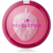 I Heart Revolution Fruity Blusher Strawberry fard de obraz compact 9,2 g