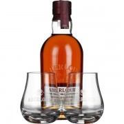 Aberlour 12 years non-chill filtered Giftset 70CL