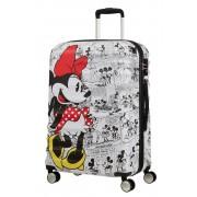 AMERICAN TOURISTER Disney Wavebreaker Trolley Minnie Comics 77cm Bianco