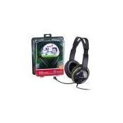 Fone Com Microfone Genius 31710169100 Hs-400a Headset Verde Grafite Ergonomico