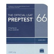 The Official LSAT Preptest 66, Paperback/Law School Admission Council