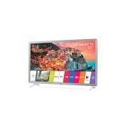 Smart TV LED 32, LG, 32LK610BPSA, HD HDR Ativo Upscaler HD webOS 4.0 Virtual Surround Plus, Branco
