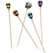 Scobitori decorative cu cranii pentru Halloween, Radar 50260, set 25 bucati