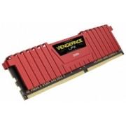 Memoria RAM Corsair Vengeance LPX DDR4, 2400MHz, 8GB, Non-ECC, CL16, XMP