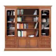 Bücher-Wohnwand Klassisch