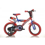 "Bicicleta copii DINO BIKES 143G SP, Roti 14"", Spiderman"