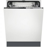 Zanussi ZDT22003FA Fully Integrated Standard Dishwasher - Black Control Panel - A+ Rated