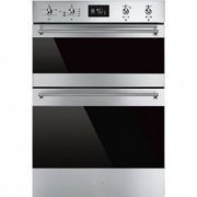 Smeg 60cm Classic Double Oven, Stainless Steel - DOSF6390X