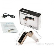 CARG7 LCD Bluetooth Car Charger FM Kit MP3 Transmitter USB Handsfree Mobile