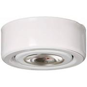 Alico Industries MLE-101-30 luz LED con anillo de montaje acabado blanco debajo del gabinete/utilidad,