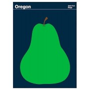 Print Collection Oregon Pear poster