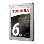 "HDD 3.5"", 6000GB, Toshiba N300 NAS, 7200rpm, SATA3, Bulk (HDWN160UZSVA)"