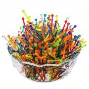 Minifurculite Aperitiv, Unica Folosinta din Plastic, 500 Buc/Set, Multicolor, Seturi Minifurculite de Unica Folosinta, Minifurculite din Plastic, Minifurculite Plastic, Set de Minifurculite de Plastic, Scobitori Aperitive