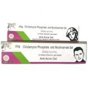 Clinkul Anti-Acne Plus Gel (Pack of 4 pcs) 20 gm each