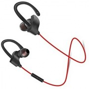 Apple iPhone 5 Compatible QC-10 Bluetooth V4.1 Wireless Stereo Sports Headset Headphone Sweatproof By GO SHOPS