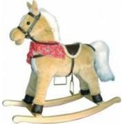 Spatiu de joaca New Classic Toys Horse Wooden Rocking - Ligh Brown