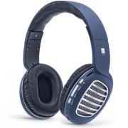 iBall Decibel BT01 (Alexa-enabled) Wireless Headphone (Blue)
