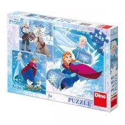 Puzzle 3 in 1 - frozen (3 x 55 piese)