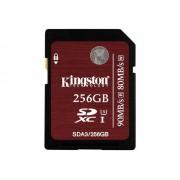 Kingston - Carte mémoire flash - 256 Go - UHS Class 3 / Class10 - SDXC UHS-I