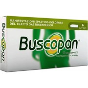 Sanofi Buscopan 6 Supposte 10 Mg