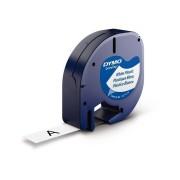 Lettertape Dymo LetraTag S0721610 (91201) tape 12mm x 4m (origineel)