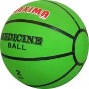 Медицинска топка гумена 2 кг. - твърда