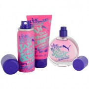 Puma Jam Woman lote de regalo I. eau de toilette 40 ml + gel de ducha 50 ml + desodorante en spray 50 ml