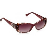 Guess Rectangular Sunglasses(Brown)