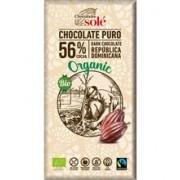 Ciocolata Bio Neagra cu 56% Cacao Pronat 100gr