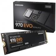 SSD Samsung 970 EVO NVMe 500GB M.2 PCIe 3.0 x4, MZ-V7E500BW