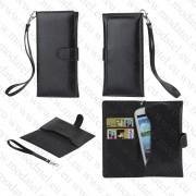 "Samsung i9300/ i9250/ LG E960 /HTC 8X 8S (калъф кожен - ""Wallet style"")"