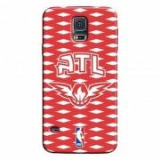 Capinha de Celular NBA Atlanta Hawks - Samsung Galaxy S5 - Unissex
